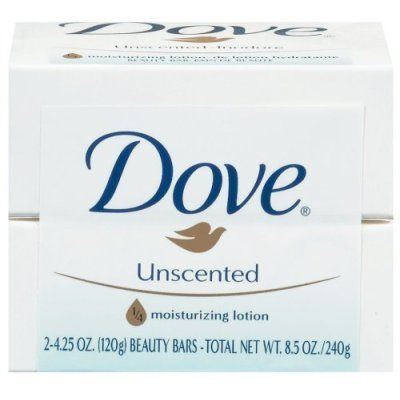 Dove Unscented Beauty Bar