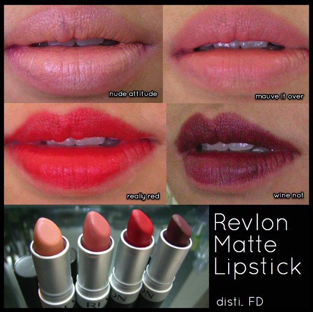 REVLON Matte Lipstick reviews, photos, ingredients