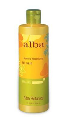 Alba Botanica Plumeria Replenishing Hair Wash