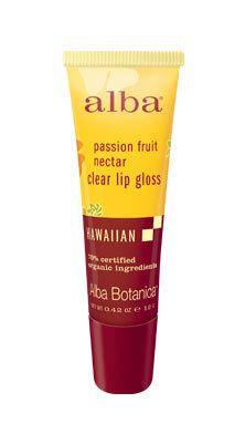 Alba Botanica Passion Fruit Nectar Clear Lip Gloss