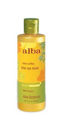 Alba Botanica Kona Coffee After-Sun Lotion