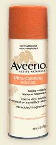 Aveeno Ultra-Calming Shave Gel