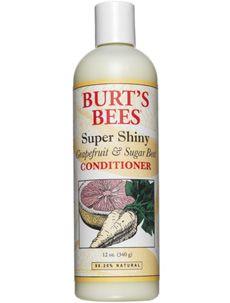 Burt's Bees Super Shiny Grapefruit and Sugar Beet Conditioner [DISCONTINUED]