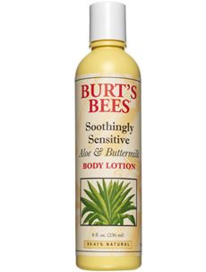 Burt's Bees Soothingly Sensitive Aloe and Buttermilk Lotion