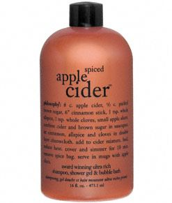 Philosophy Spiced Apple Cider 3-in-1 (from the Hot Toddies collection)