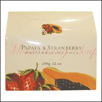 Asquith & Somerset Papaya and Strawberry Moisturizing Soap