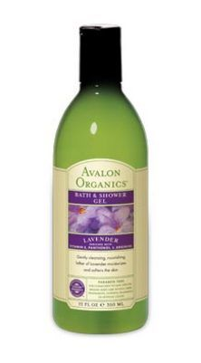 Avalon Organics Botanicals Lavender Bath and Shower Gel