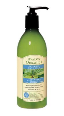 Avalon Organics Botanicals Peppermint Glycerin Hand Soap