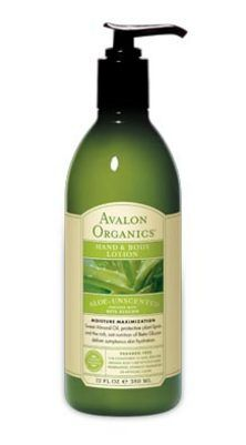 Avalon Organics Botanicals aloe unscented hand and body lotion