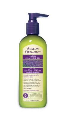 Avalon Organics Therapeutic Lavender Facial Wash