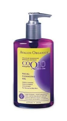 Avalon Organics Botanicals CoQ10 Facial Cleansing Gel