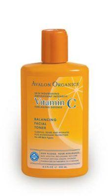 Avalon Organics Botanicals Vitamin C Balancing Facial Toner