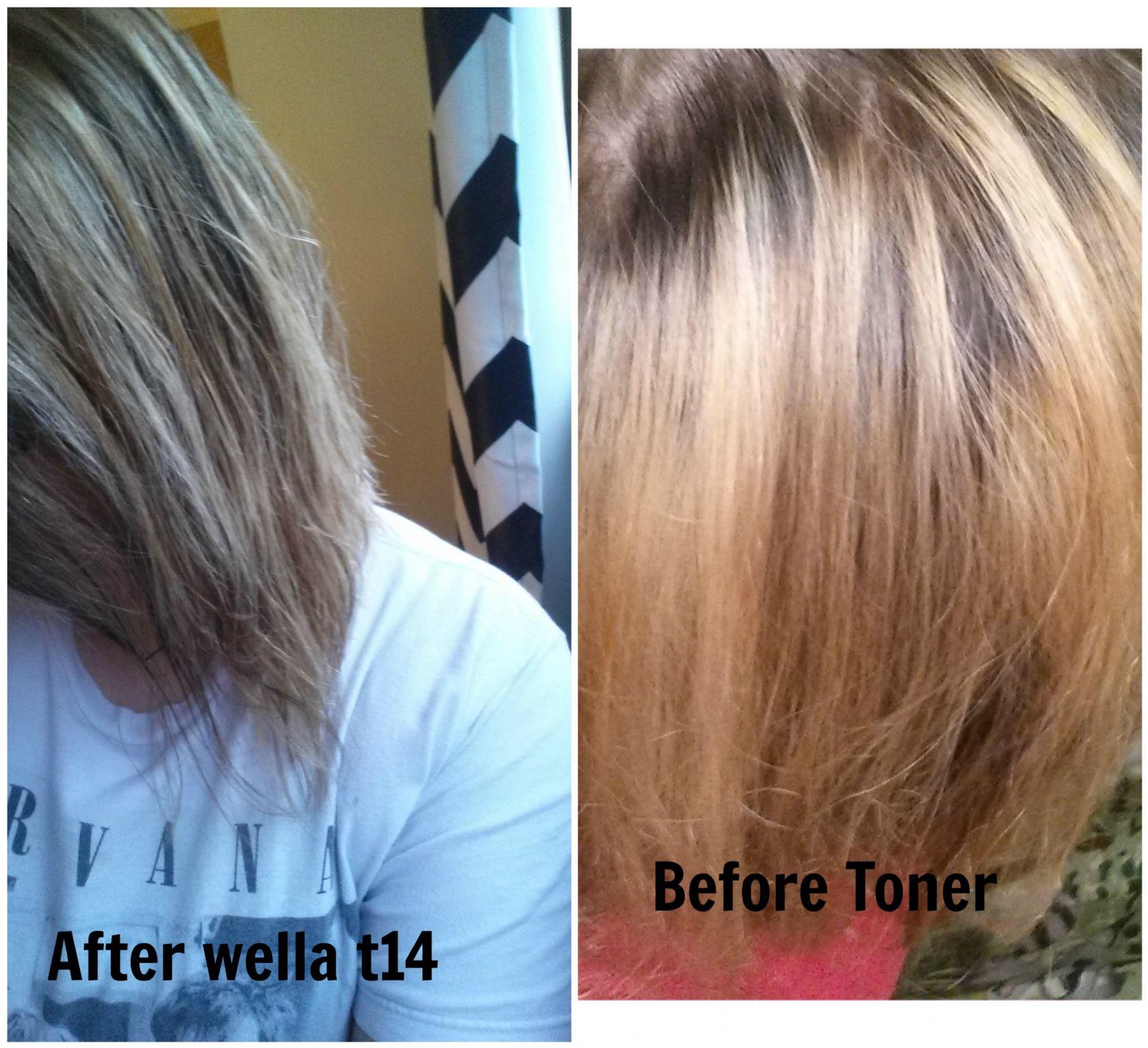 pale ash blonde toner