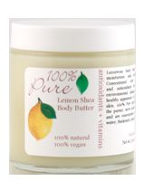 100% Pure Lemon Shea Body Butter