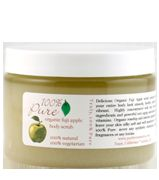 100% Pure Organic Fuji Apple Body Scrub