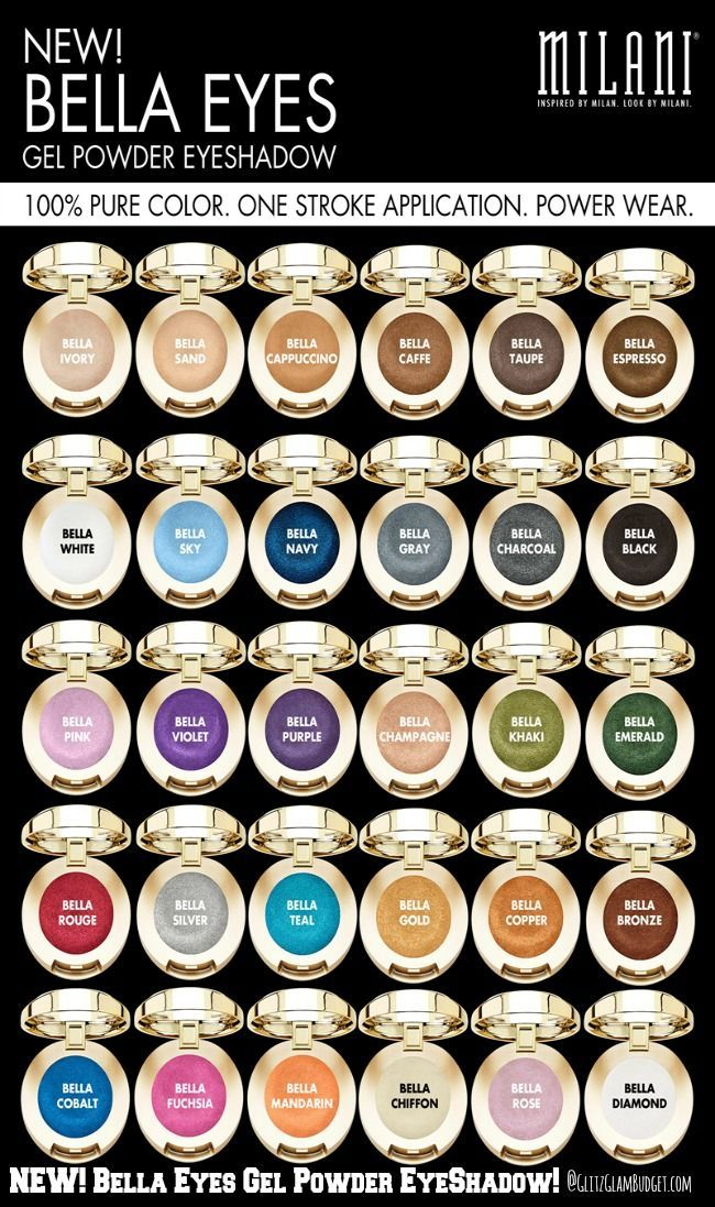 Image result for MILANI Bella Eyes Gel Powder Eyeshadow