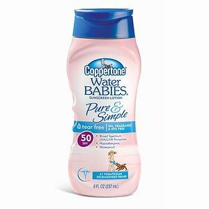 Coppertone Coppertone Water Babies Pure and Simple, Sunscreen Lotion, SPF 50