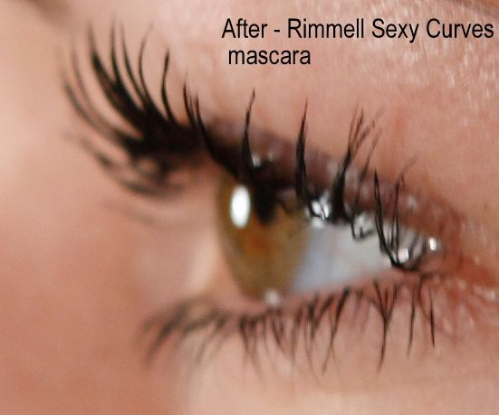 Rimmel sexy curves mascara