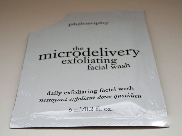 The Microdelivery Exfoliating Facial Wash by philosophy #7