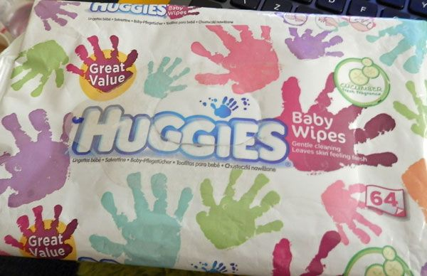 Huggies - Naturally Refreshing Wipes with cucumber & green tea