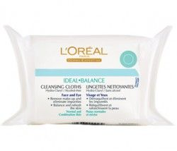 L'Oreal Ideal Balance wash cloths