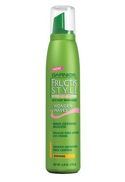 Garnier wonder waves mousse