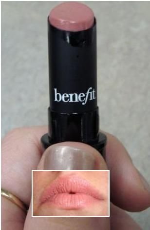 BeneFit Cosmetics Silky Finish Lipstick  Skinny Dip reviews, photo