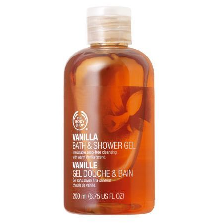 The Body Shop Vanilla Shower Gel