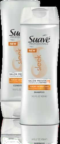 Suave Professionals Sleek Look Shampoo