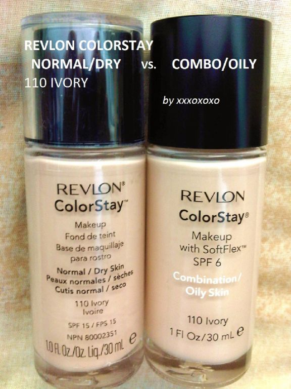 Revlon ColorStay Makeup [Reformulated Early 2013] reviews, photos ...