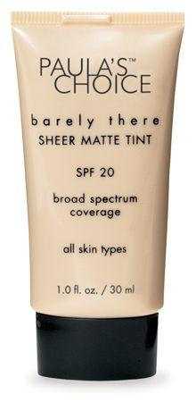 Paula's Choice Barely There Sheer Matte Tint SPF 30 [DISCONTINUED]