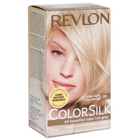 Revlon colorsilk light ash blonde mine, not
