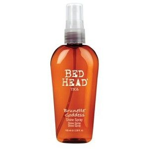 TiGi Brunette Goddess Shine Spray