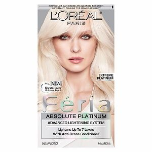 L\'Oreal Feria Absolute Platinum Advanced Lightening System reviews ...