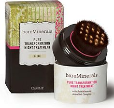 Bare Escentuals Pure Transformation Night Treatment