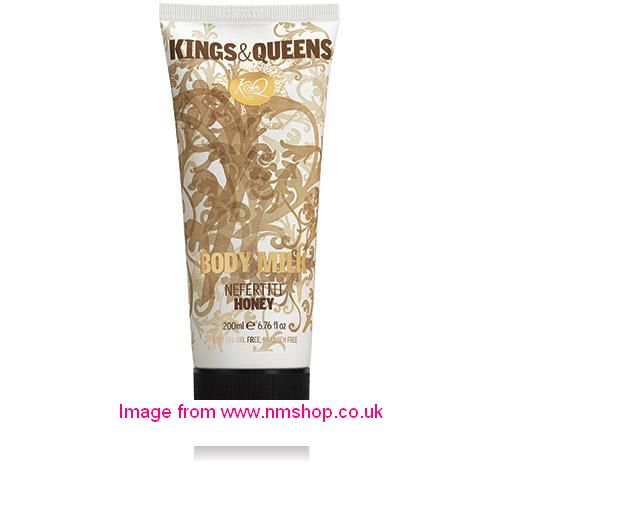 Korres Kings & Queens Body Milk Nefertiti Honey