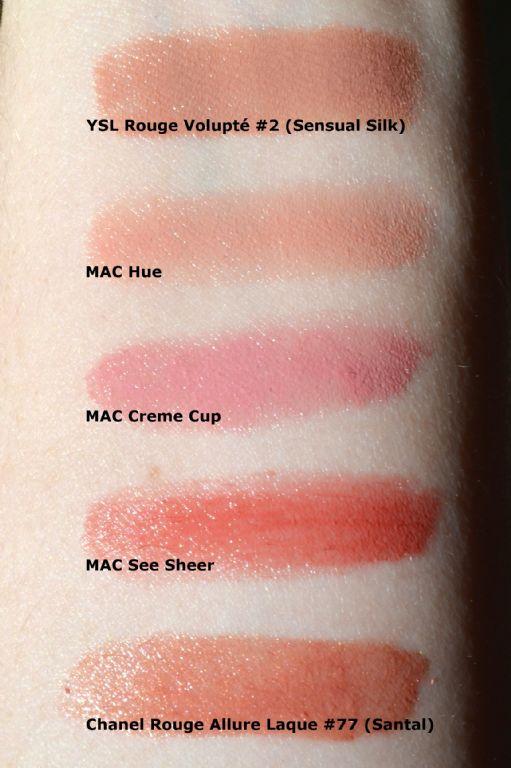 mac see sheer lipstick review