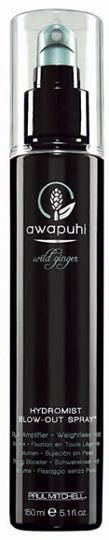 Paul Mitchell Awapuhi and Wild Ginger HydroMist Blow-Out Spray