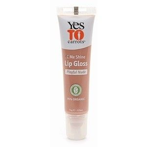 Yes To Carrots C Me Shine Lip Gloss-Playful Nude