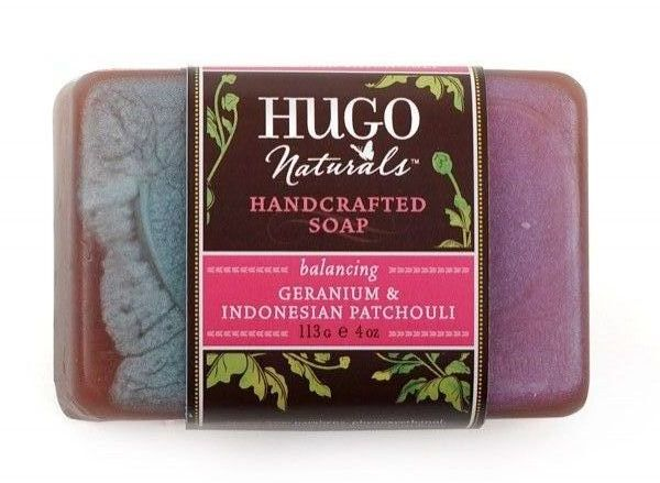 Hugo Naturals - Geranium and Indonesian Patchouli