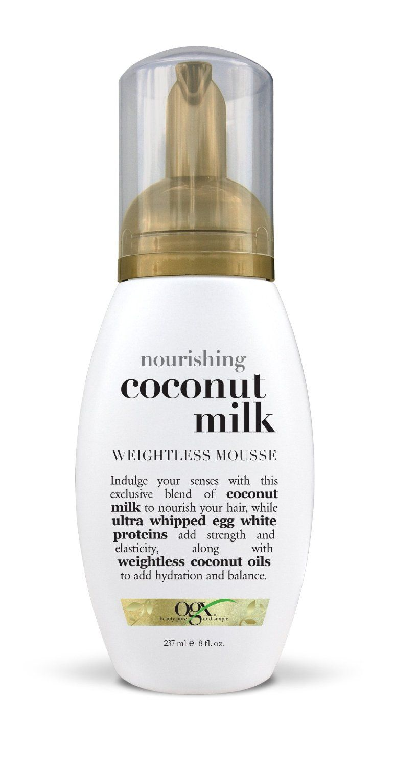 Organix Nourishing Coconut Milk Weightless Mousse