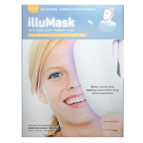 Light Therapy For Acne At Home: Illumask- Anti Acne Light Therapy Mask Reviews, Photo