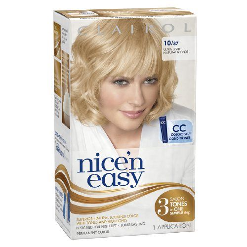 Clairol Nice'n Easy in High-Lift Ultra Light Natural Blonde #87