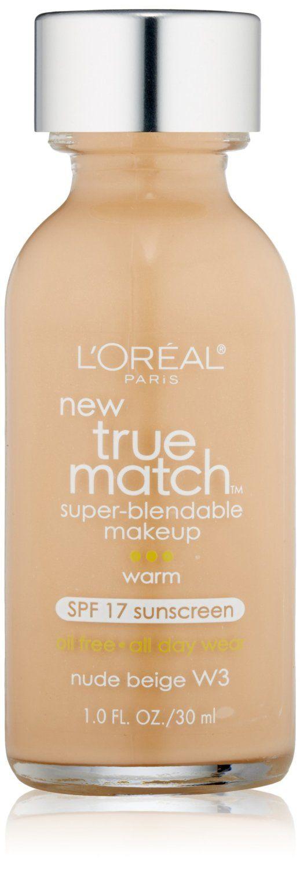 L Oreal Paris True Match Super Blendable Makeup Spf 17