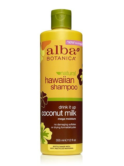 Alba Botanica Natural Hawaiian Drink It Up Coconut Milk Shampoo