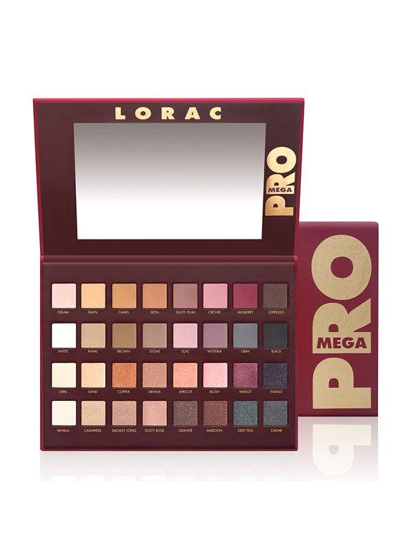 Lorac Pro To Go Professional Eye Collection Review: LORAC Mega Pro Palette Reviews, Photos