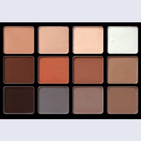 Viseart Palette 12 Paupières Eyeshadow Palette Basic: 01 ...
