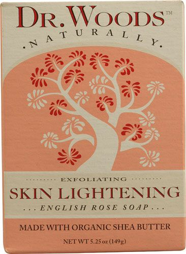 Dr Woods Natural Bar Soap Skin Lightening English Rose Review