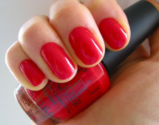 Opi Nail Lacquer Big Apple Red Reviews Photos