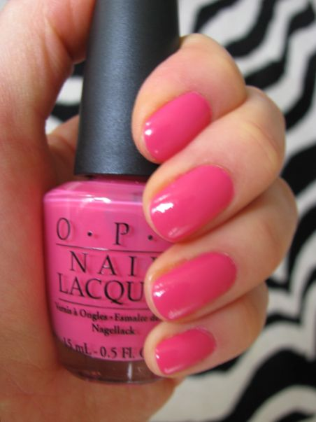 Opi Strawberry Margarita Free Shipping At Nail Polish Canada